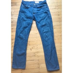 Gustin Slim Fit Raw Selvedge Button Fly Jean 32x31